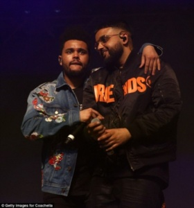 DJ Khaled, The Weeknd