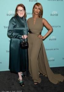Iman, Harper's Bazaar, Glenda Bailey