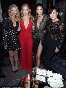 Christy Brinkley, Sailor Brinkley, Kendall Jenner, Kris Jenner