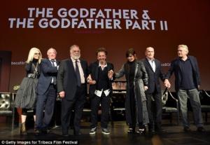 Diane Keaton, James Cann, Francis Ford Coppola, Al Pacino, Talia Shire, James Cann, Robert De Niro