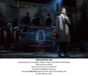 Groundhog Day, Andy Karl