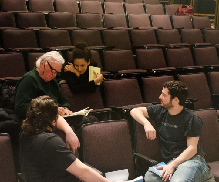 David Rabe Attends Rehearsals Of Rare Revival Of In The Boom Boom