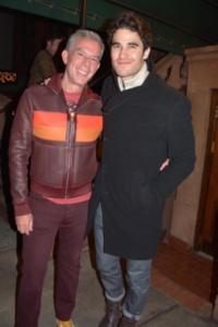 Elvis Duran and Darren Criss
