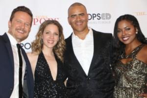 Will Chase, Jessie Mueller Christopher Jackson, Adrienne Warren