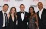 Jessie Mueller alongside Tony Award nominees Will Chase, Christopher Jackson, Steven Reineke, Adrienne Warren