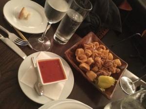 Mozzarella & Vino, Calamari