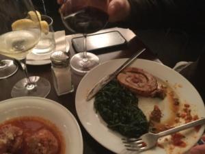 Mozzarella & Vino, veal