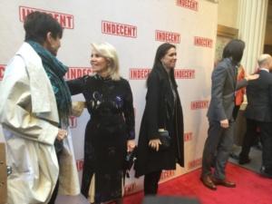 Mercedes Ruehl, Daryl Roth, Julie Taymor