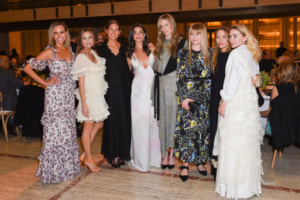 Keltie Knight, Marcella Guarino Hymowitz, Colby Mugrabi, Candice Miller, Lesley Thompson Vecsler, Amy Astley, Mary-Kate Olsen, Ashley Olsen