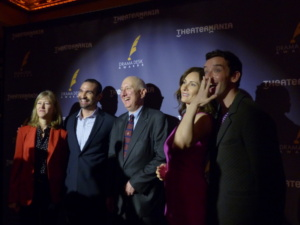 Gretchen Shugart, Javier Muñoz, Charles Wright, Laura Benanti, Michael Urie