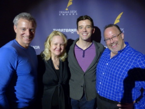 Times Square Chronicles, Ross, Suzanna Bowling, Michael Urie and Stephen Best