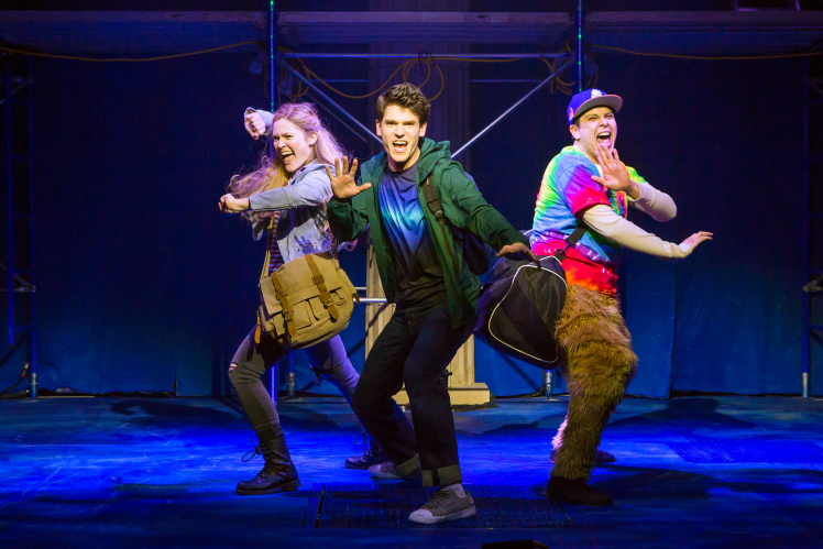 he says the lightning thief � the percy jackson musical