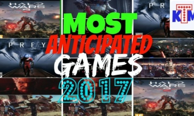Most anticipated games of 2017