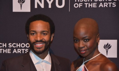 Andre Holland and Danai Gurira
