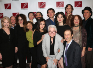 Paula Vogel and the cast of Indecent