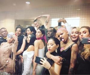 Kim Kardashian, Kylie Jenner, Paris Jackson, Belle Hadid