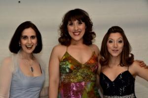 Stephanie D'Abruzzo, Farah Alvin, Christina Bianco