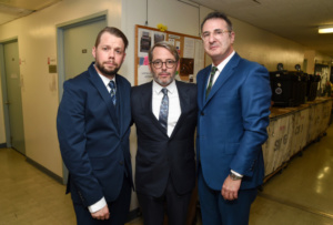 Benjamin Schrader, Matthew Broderick, Jon Robin Baitz