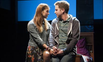 Laura Dreyfuss and Ben Platt