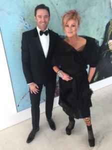 Hugh Jackman with wife Deborra-Lee Furness
