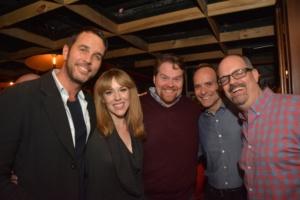 Douglas Ladnier, Emily Skinner, John Treacy Egan, J. Mark McVey, Brad Oscar