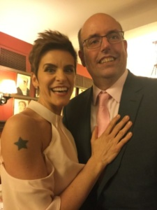 Jenn Colella, Christopher Ashley