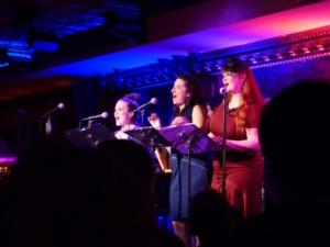 The W54B Radio singers