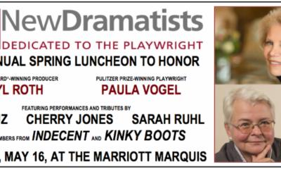 Paula Vogel, Daryl Roth, New Dramatist