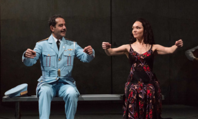 Tony Shalhoub, Katrina Lenk. The Band's Visit