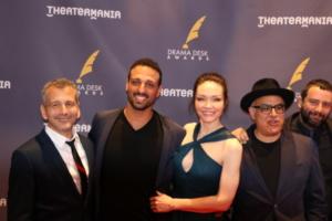 David Cromer, Ariel Stachel, Katrina Lenk, David Yazbek