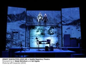 Ernest Shackleton Loves Me ,Val Vigoda, Wade McCollum