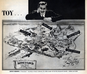 Walt Disney. disneyland