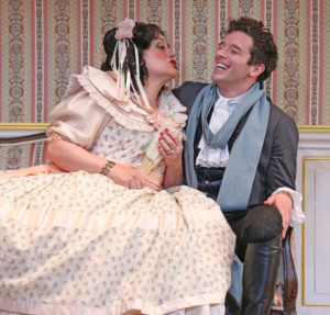 Mary Testa, Michael Urie
