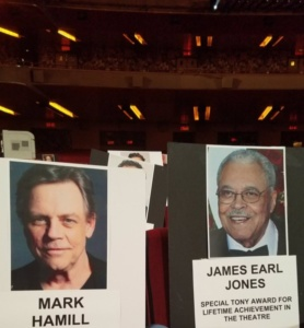 James Earl Jones, Mark Hamill