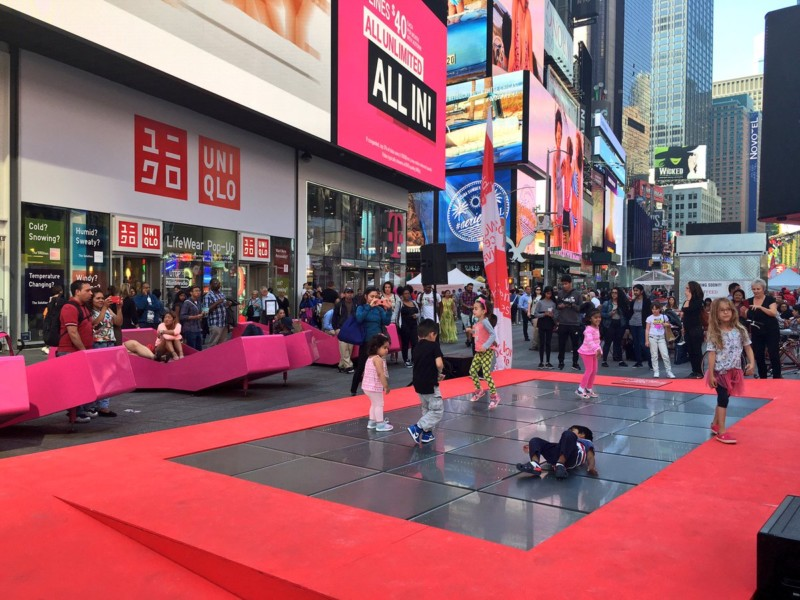 World science festival finds times square times square chronicles for 1234 get on dance floor