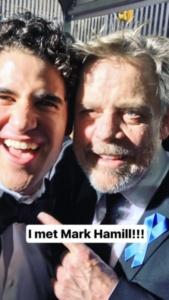 Darren Criss, Mark Hamel