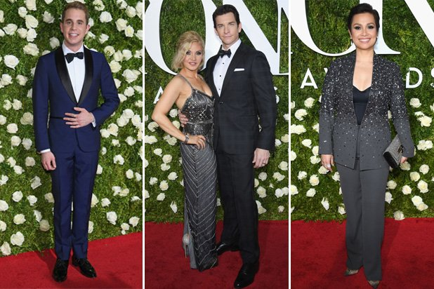 The stars come out at the Tony Awards