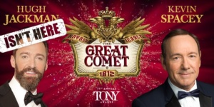 Kevin Spacey, Natasha Pierre and the Great Comet of 1812