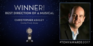 Christopher Ashley, Come From Away