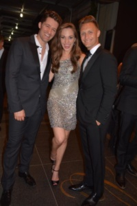 Matthew Morrison, Laura Osnes, Nathan Johnson