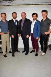 -Jamie LaVerdiere, Danny Gardner, Scott Coulter, Brandon Uranowitz,Luke Hawkins