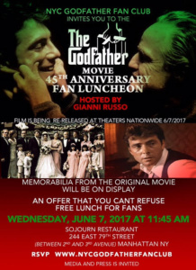 The Godfather, Gianni Russo, Sojourn
