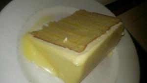 The lemon doberge cake