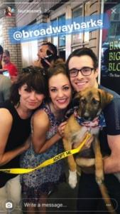 Laura Osnes, Corey Cott, Bandstand