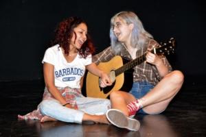 Daphne Rubin-Vega and Isabel Culpepper