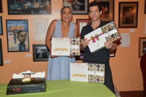 Andy Karl, Barrett Doss,Cupcakes by Melissa