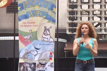 Bernadette Peters, Broadway Barks