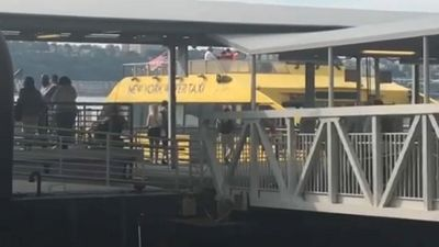 FDNY: 11 Hurt When Water Taxi Hits Dock In Hudson River