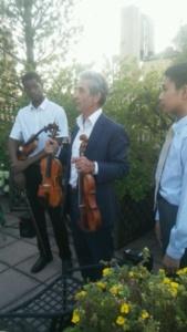 Angelo Chery, Christophe Landon, Joshua Wang