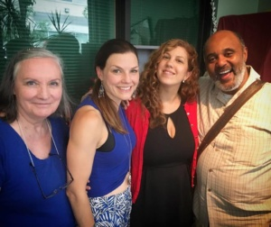 Mary McGinely, Jeannie Bartel, Cayenne Douglass, Evander Duck